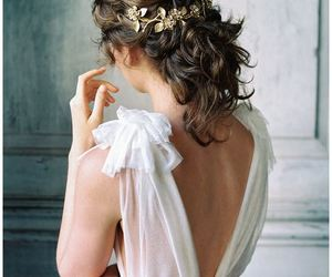 bridal, bride, and hair ideas image
