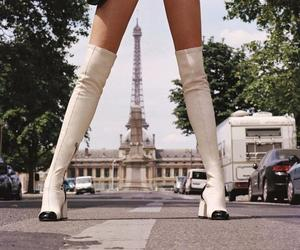 boots, fashion, and paris image