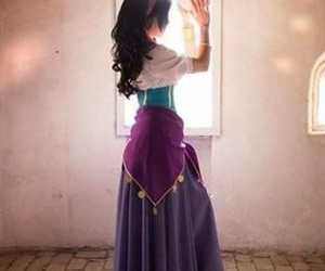 disney, esmeralda, and cosplay image