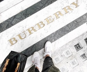 Burberry, fashion, and style image