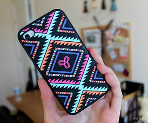 case, iphone, and tribal image