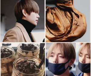 aesthetic, brown, and kpop image