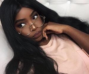 beautiful, black women, and pretty image