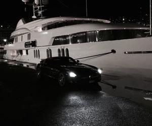 car, luxury, and yacht image