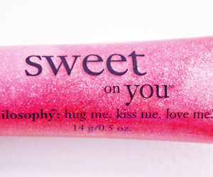 gloss, philosophy, and pink image