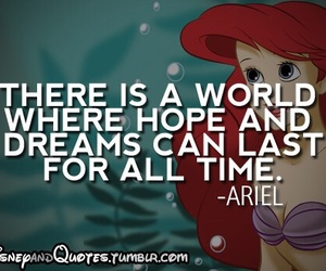 ariel, disney, and Dream image