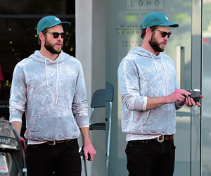 Hot, liam hemsworth, and street style image
