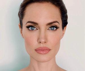 Angelina Jolie, beauty, and lips image