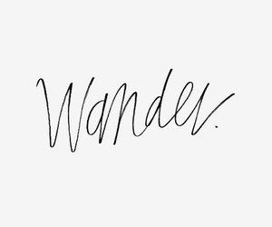 wander, leave, and travel image