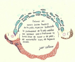 julio cortazar, amor, and frases image