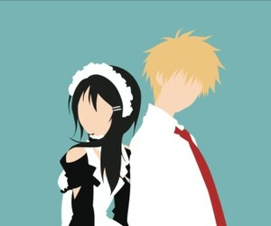 anime, kaichou wa maid sama, and usui takumi image