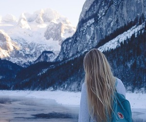 blue, mountains, and travel image
