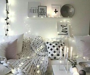 candles, decor, and decoration image