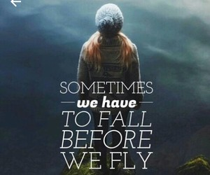 quote, fly, and girl image