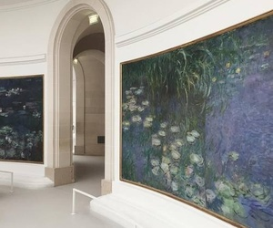 art, indie, and monet image