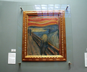art, grunge, and the scream image
