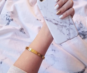 aesthetic, bed sheets, and bracelet image