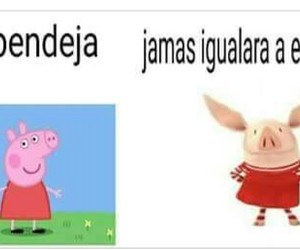 infancia, olivia, and peppa image