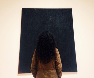 art, black, and curly image