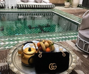fruit, gucci, and luxury image