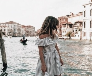 dress, fashion, and travel image