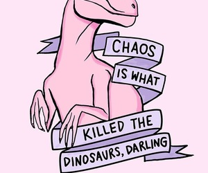 dinosaur, pink, and wallpaper image