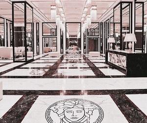 Versace, luxury, and interior image