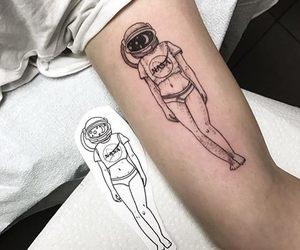 tattoo and nasa image