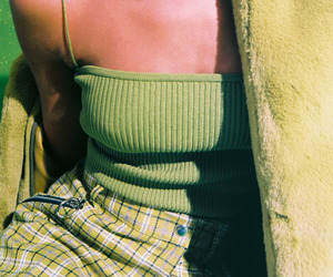 green, 90s, and fashion image