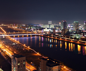 asia, night, and city image