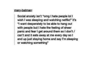 amazing, social anxiety, and wehearit image