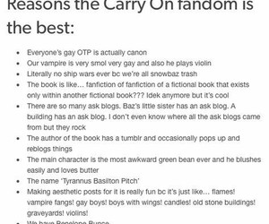 carry on, fandom, and otp image