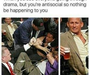 funny, drama, and meme image
