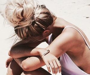 beach, bikini, and girly image