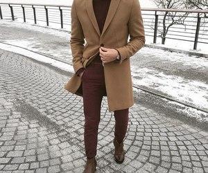 coat, fashion, and Hot image