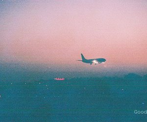 airplane, forever, and goodbye image