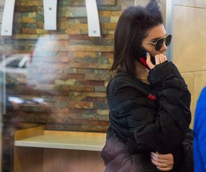 candid, macdonals, and kendall jenner image