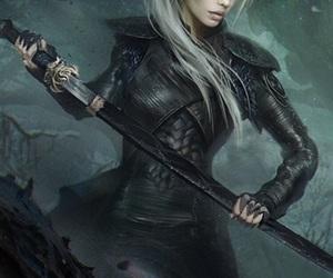 assassin, blonde, and digital art image