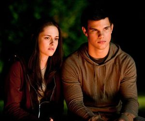 bella, jacob, and twilight saga image