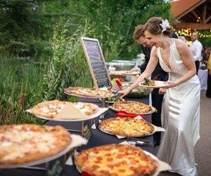 pizza, wedding, and boda image