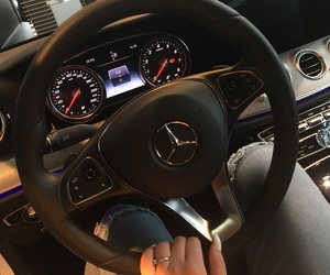 mercedes benz and nails image