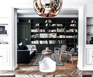 home tour, modern eclectic, and paris home image