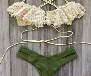 bathing suit, bikini, and etsy image