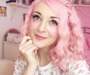 peach, pink, and princess image