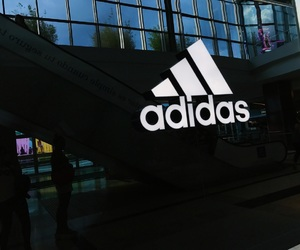 adidas, black, and dark image