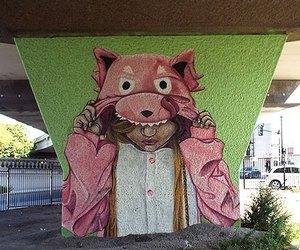 graffiti, montreal, and street art image