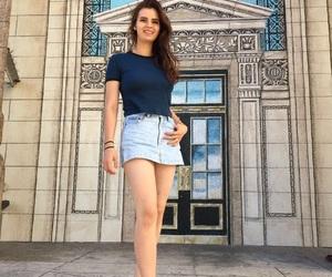 CK, girl, and shorts image