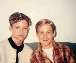 ryan gosling, justin timberlake, and young image