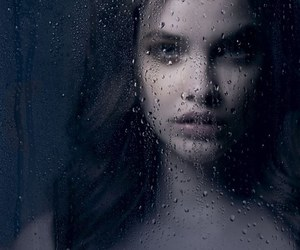 barbara palvin, model, and rain image