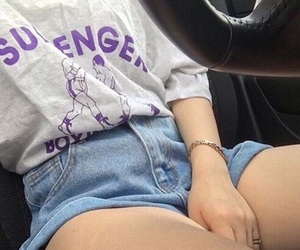aesthetic, clothes, and goals image
